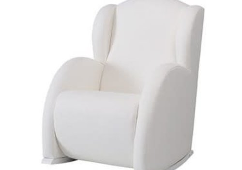 Micuna Micuna Flor Rocker Vegan Leather White