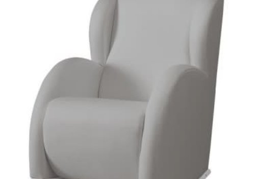 Micuna Micuna Flor Rocker White-Grey Fabric