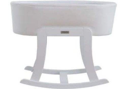 Micuna Micuna Nacelle Bassinet Leather White