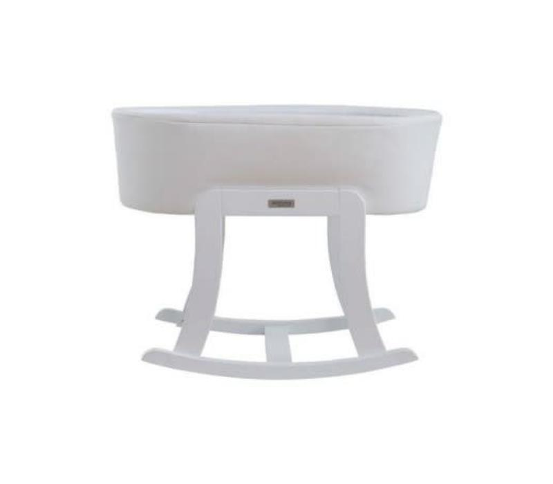 Micuna Nacelle Bassinet Leather White