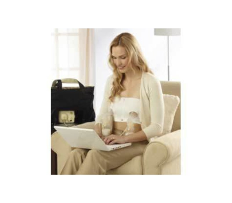 Medela Easy Expression Bustier-White Small