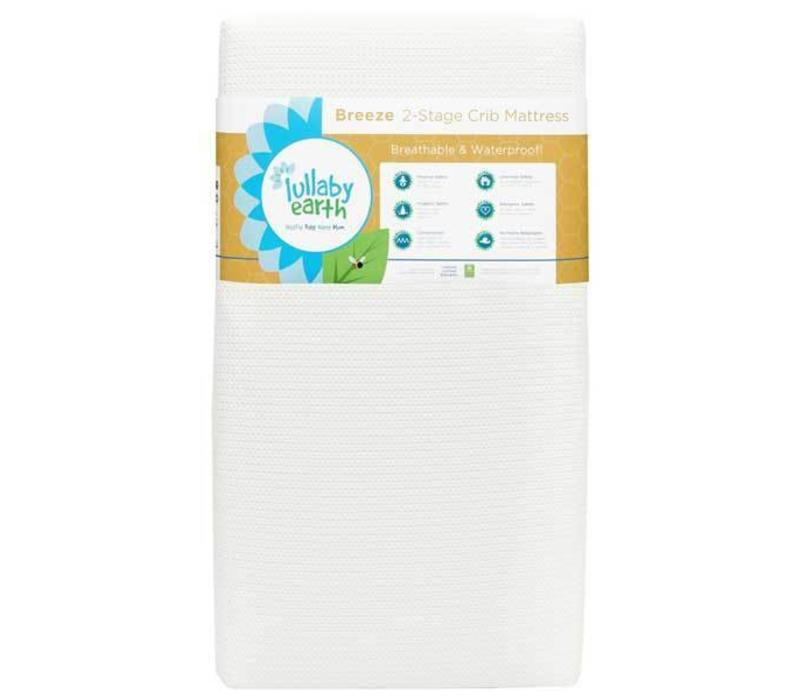 Lullaby Earth Breeze Crib Mattress In White