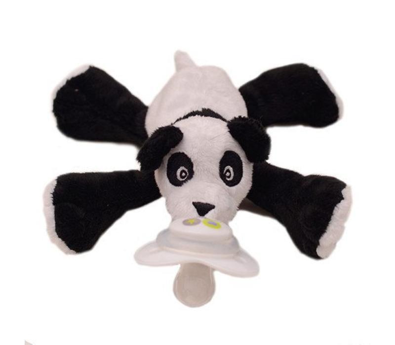 Nookums Paisley Panda Buddies Pacifier Holder