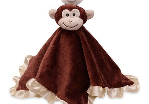 Nookums Nookums Milo Monkey Blankies Pacifier Holder