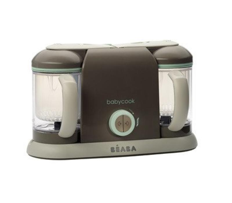 Beaba BabyCook Pro 2X Baby Food Maker In Latte-Mint