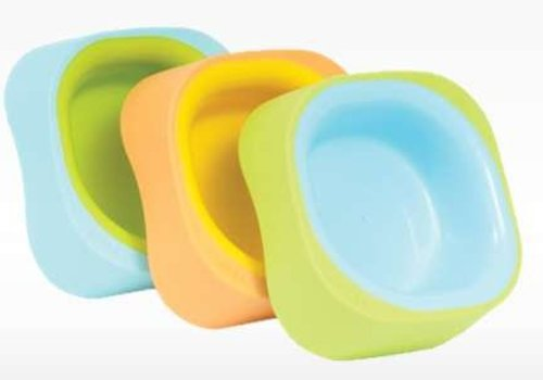 Beaba Beaba Soft Bowl Set Of 3