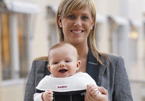 Baby Bjorn BABYBJORN Bib For Baby Carrier 2 Pack- White