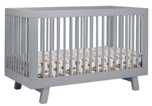 Baby Letto Baby Letto Hudson 3 In 1 Convertible Crib With Toddler Rail In Grey