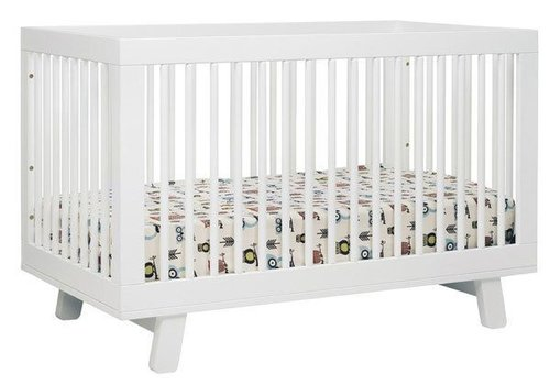Baby Letto Baby Letto Hudson 3 In 1 Convertible Crib With Toddler Rail In White