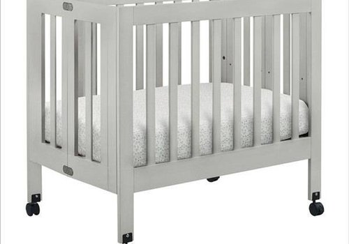 Baby Letto Baby Letto Origami Mini Crib In Grey (Pad Included)