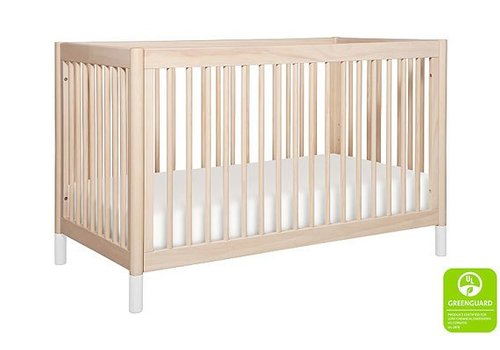Baby Letto Baby Letto Gelato 4-in-1 Convertible Crib with Toddler Bed Kit In Washed Natural