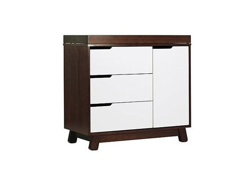 Baby Letto Baby Letto Hudson Dresser With Changer Tray In White With Espresso