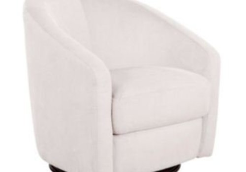 Baby Letto Baby Letto Madison Swivel Glider In Ecru