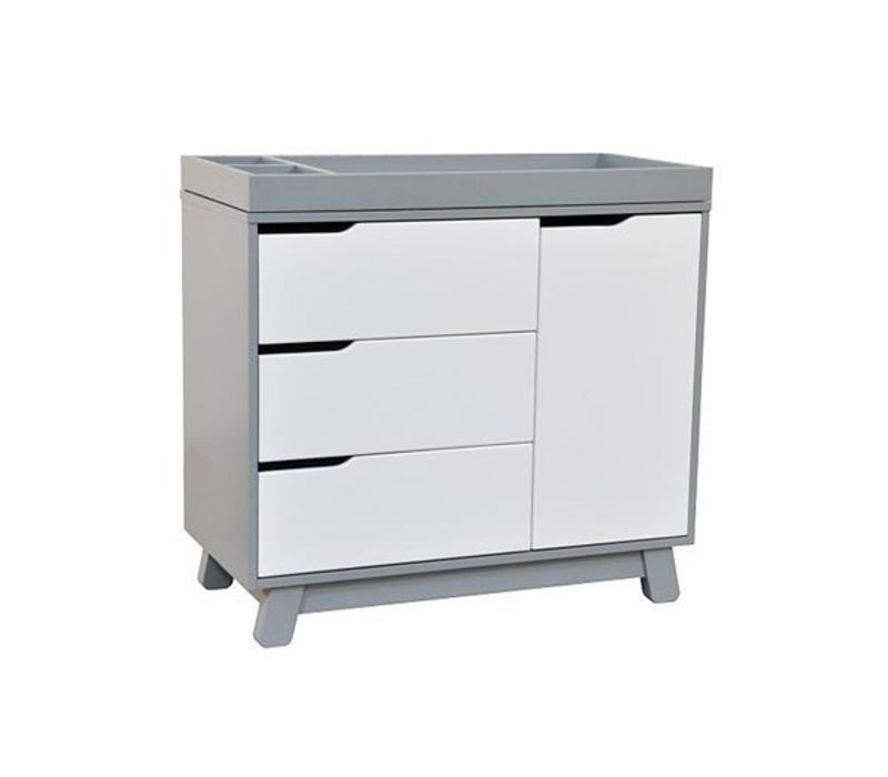 Baby Letto Hudson Dresser With Changer Tray In White With Grey