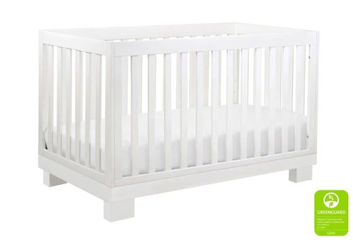 Baby Letto Baby Letto Modo 3 In 1 Convertible Crib With Toddler Rail In White