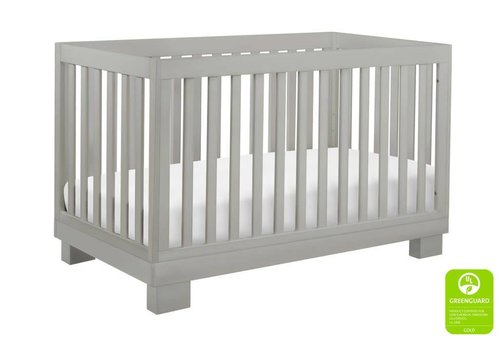 Baby Letto Baby Letto Modo 3 In 1 Convertible Crib With Toddler Rail In Gray