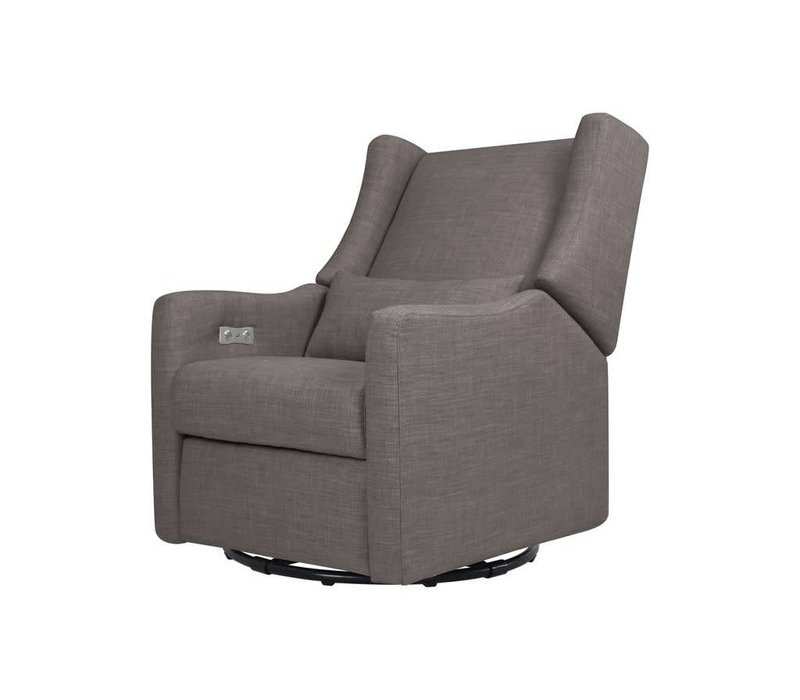 Baby Letto  Kiwi Glider Recliner  Grey Tweed