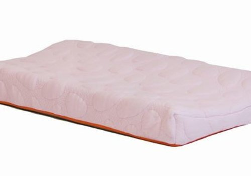 Nook Sleep Nook Sleep Organic Pebble Changing Pad In Blush