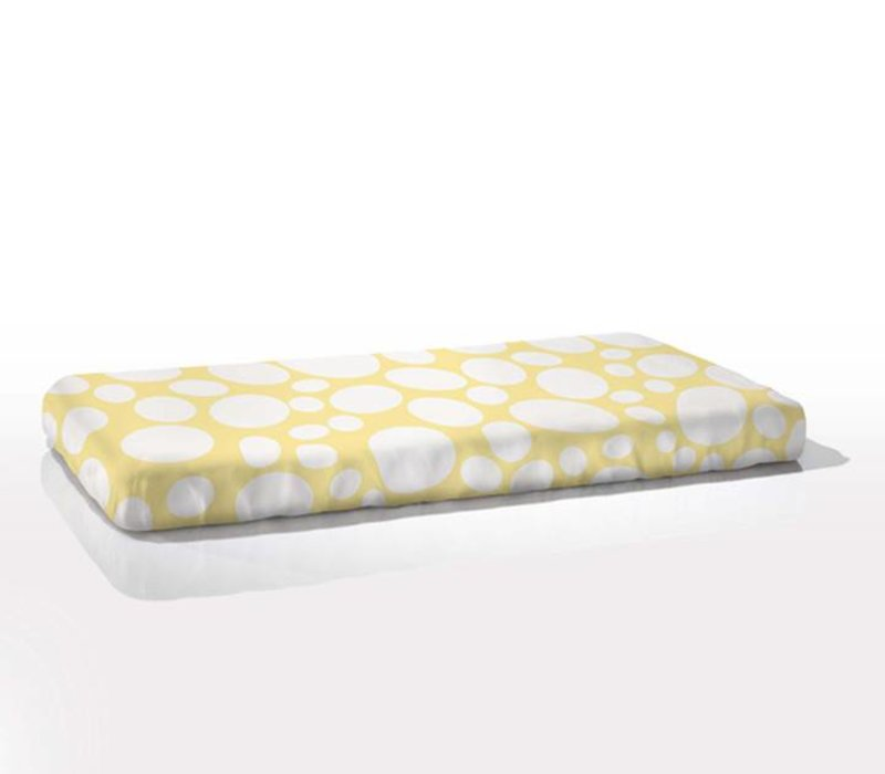 Nook Sleep Fitted Crib Sheet Riverbed In Daffodil