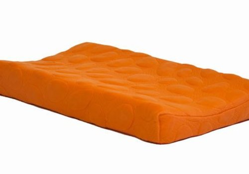 Nook Sleep Nook Sleep Organic Pebble Changing Pad In Poppy