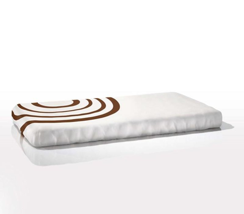 Nook Sleep Fitted Crib Sheet Ripple In Bark