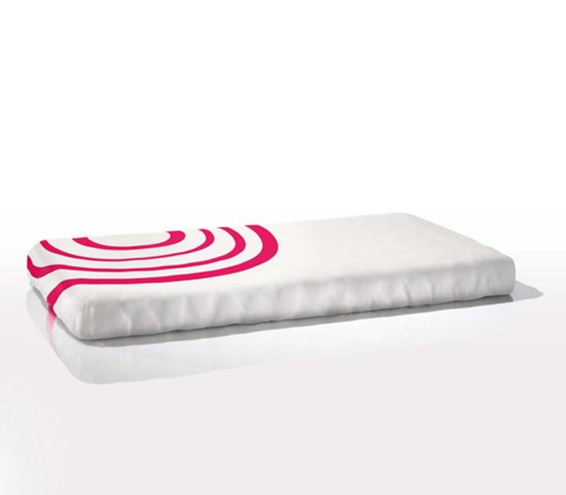 Nook Sleep Fitted Crib Sheet Ripple In Blossom