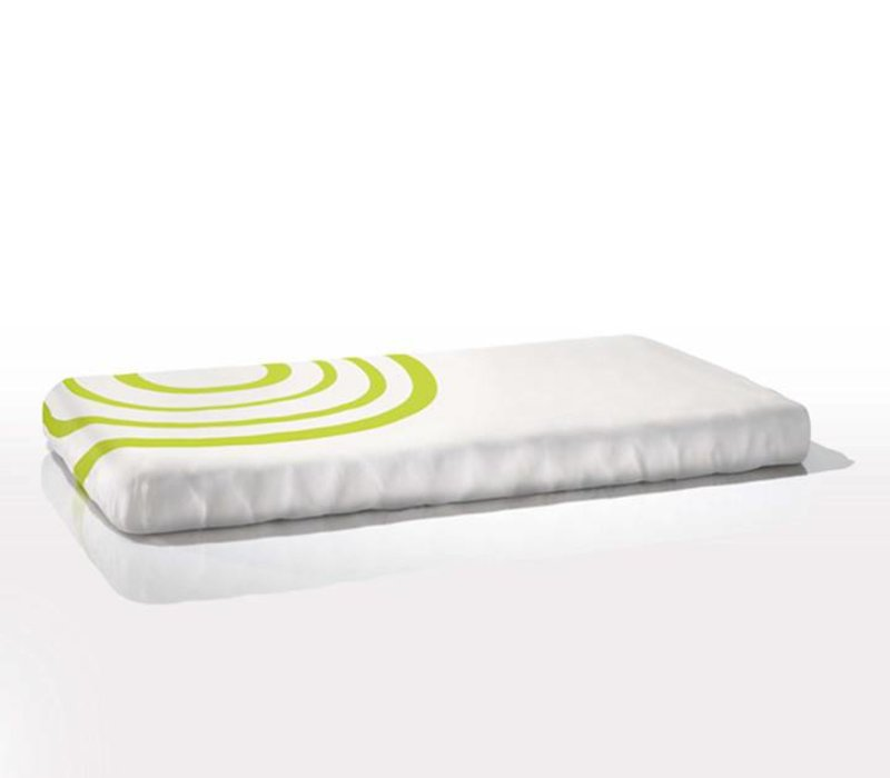 Nook Sleep Fitted Crib Sheet Ripple In Lawn