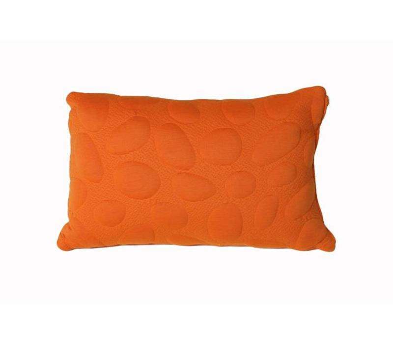 Nook Sleep Pebble Pillow Standard Size In Poppy