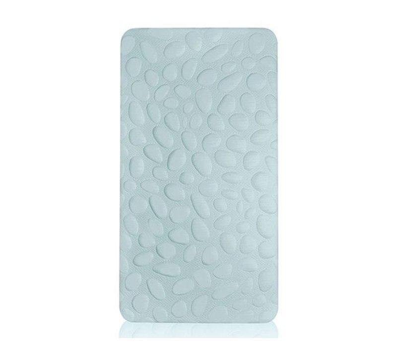 Nook Sleep Pebble Pure Crib Mattress In Sea Glass (Coconut And Latex) 2 Stage