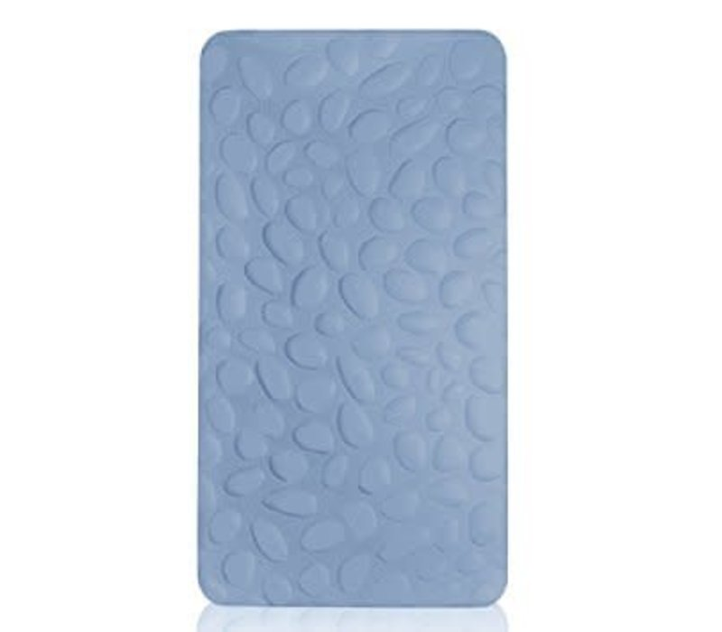 Nook Sleep Pebble Pure Crib Mattress In Sky (Coconut And Latex) 2 Stage