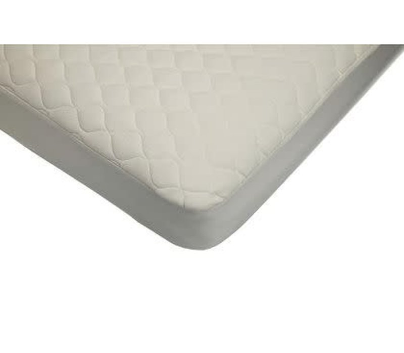 American Baby Organic Waterproof Quilt Crib-TD Mat. Cover