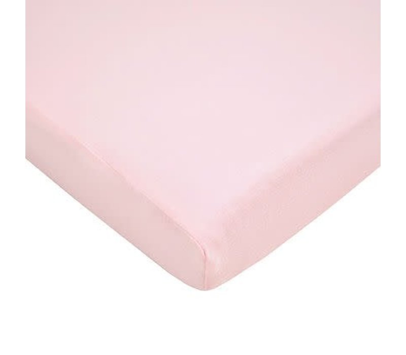 American Baby Pack N Play Value Jersey Sheet- Pink