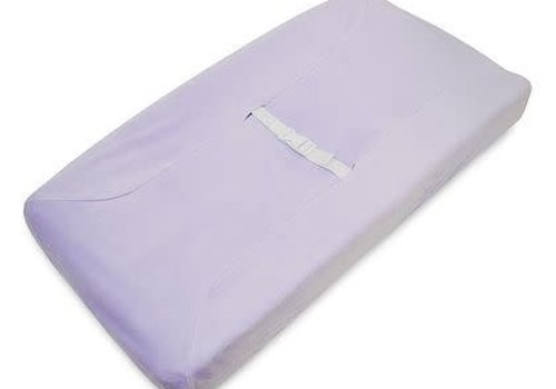 American Baby American Baby Changing Pad Cover In Lavendar