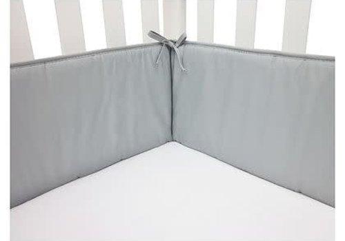 American Baby American Baby Standard Crib Size Bumper In Grey