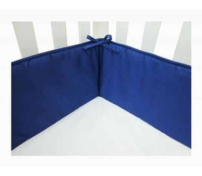 American Baby Crib Bumper In Royal Blue