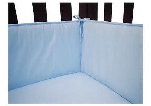 American Baby American Baby Standard Crib Size Bumper In Blue