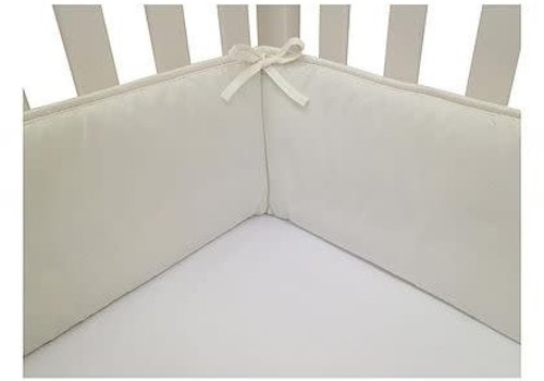 American Baby American Baby Standard Crib Size Bumper In White