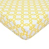 American Baby American Baby Percale Crib Sheet Golden Gotcha