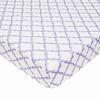 American Baby American Baby Percale Crib Sheet Lav- Moroccan