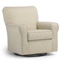 Best Chairs Story Time Hagen Swivel Glider- Custom Design Your Own Color