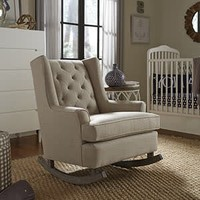 Best Chairs Story Time Paisley Runner Rocker- Custom Design Your Own Color