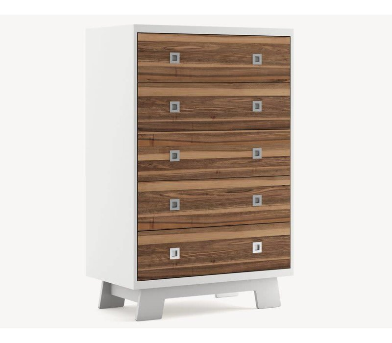 Dutailier Pomelo 5 drawer Dresser- Custom Design Your Own Color