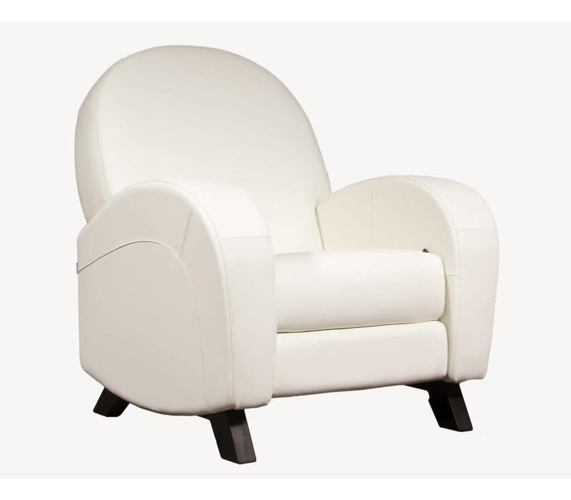 Dutailier Rondo Glide, Recline, Swivel, With Footrest - Custom Design Your Own Color
