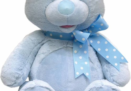 Cuddle Barn Cuddle Barn Animated MY First Singing Teddy -Blue