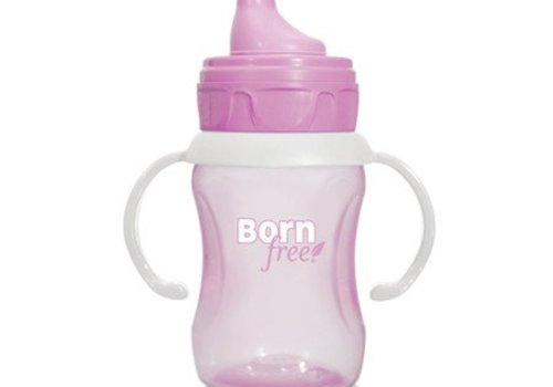 Born Free Born Free 7 Ounce Training Cup In Pink