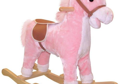 Charm Charm Lil Pink Rocking Horse