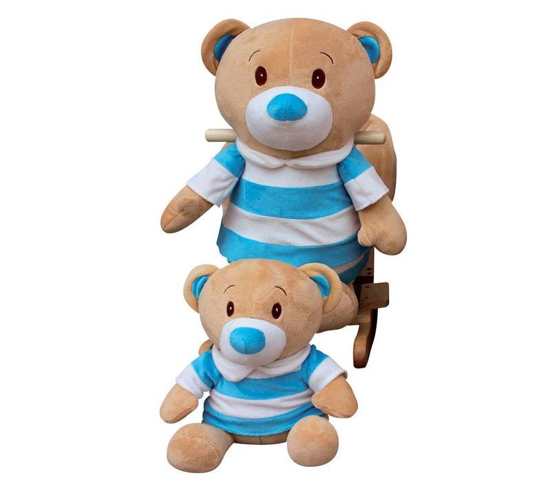 Charm Teddy Bear  Rocker - Boy