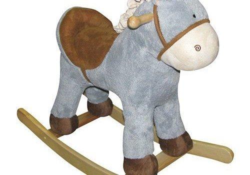 Charm Charm ''Baby Blue'' Horse Rocker