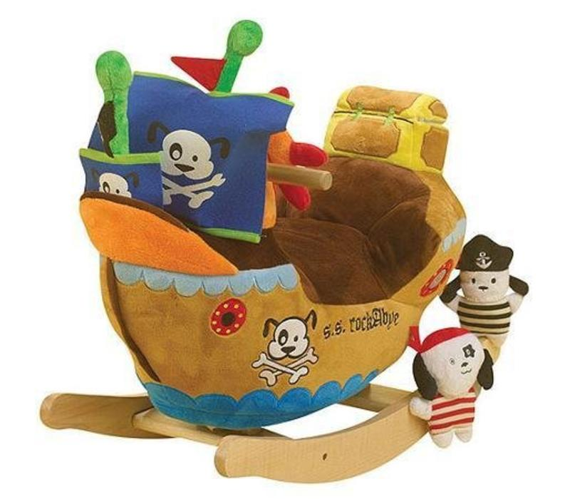 Charm Pirate Ship Rocker