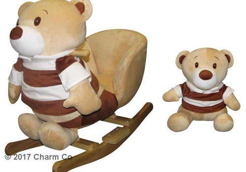 Charm Charm Buddy Bear And Pal Rocker